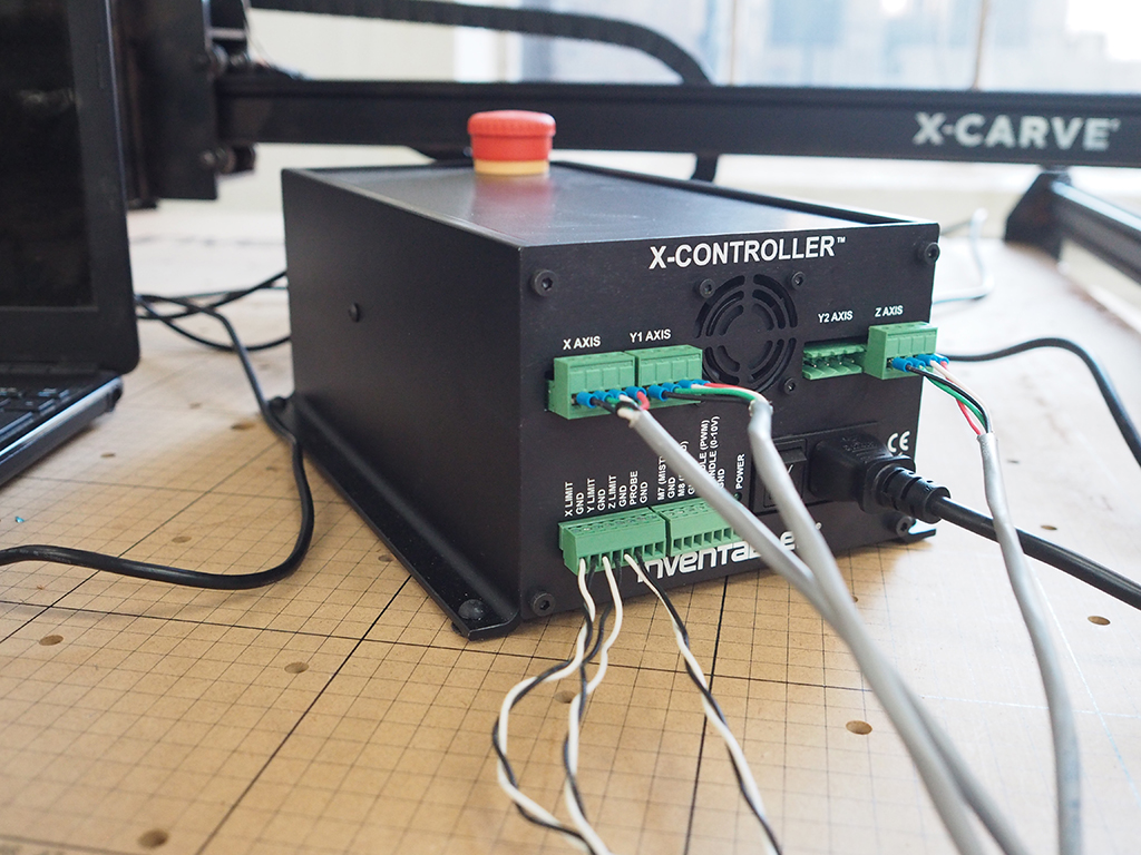 X Carve Instructions Controller Usage Stepper Motor Driver Wiring Wire Cable This Is The Easiest And Quickest Way To Get Going With Your Option You Wont Need Make Any Changes