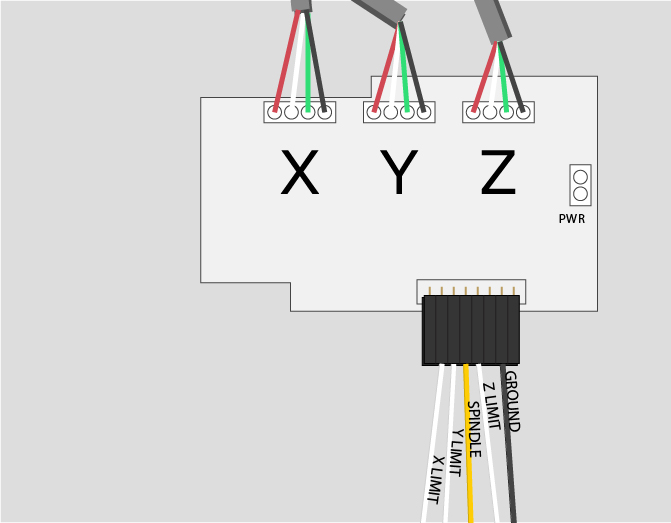x carve instructions electronics honeywell fan limit switch wiring crimp the white ends of each limit switch wire pair insert them into the header connector